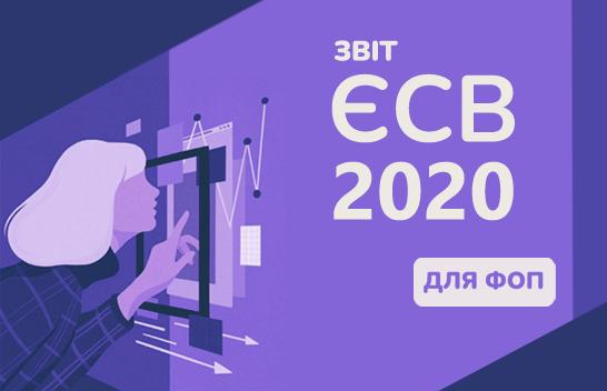 Звіт з ЄСВ у ФОП за 2020 рік